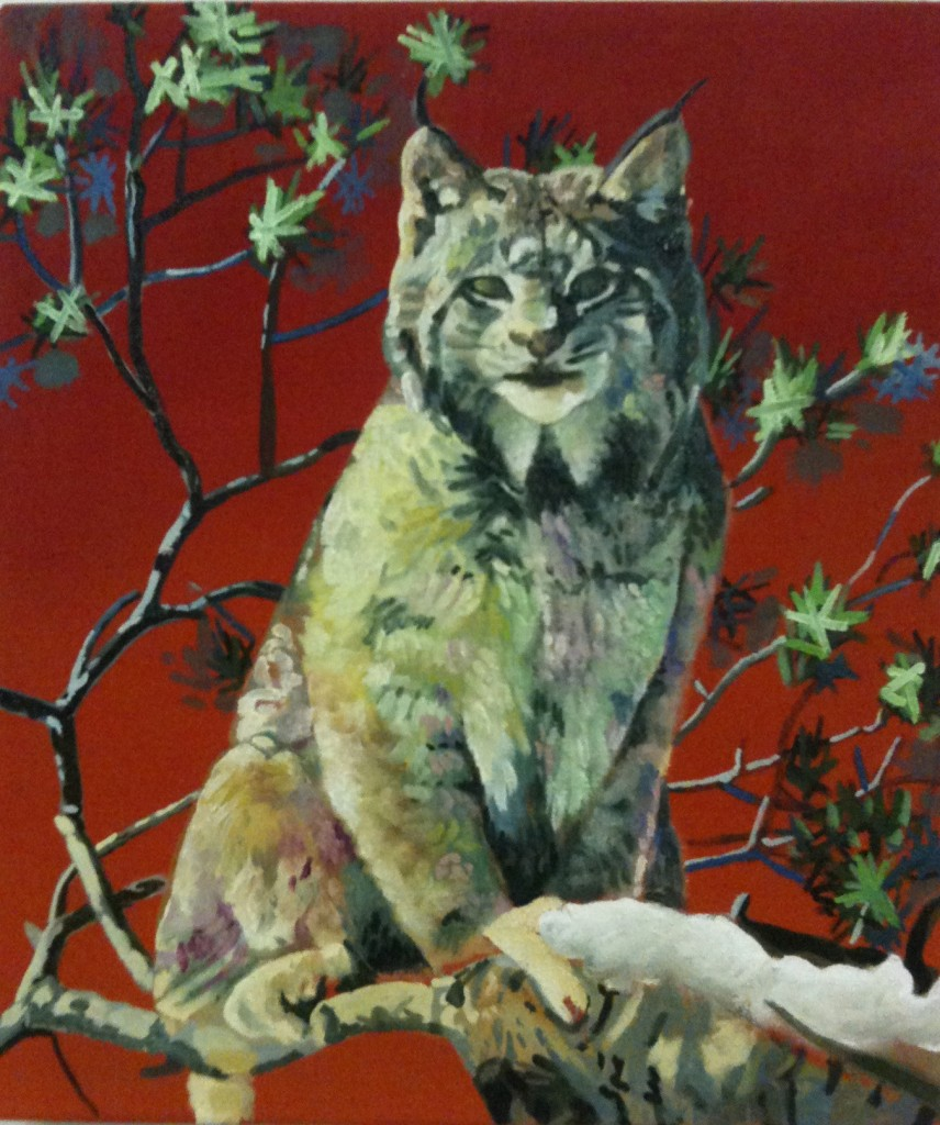 Lynx, 20x25cm, oil on linen, 2005